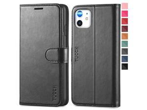 iPhone 11 Case iPhone 11 Wallet Case with RFID Blocking Card Slots Stand Magnetic Closure Protective PU Leather Shockproof TPU Flip Cover Compatible with iPhone 11 2019 61 Light Brown