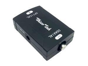 Toslink Coaxial to Optical Digital Audio Converter 24bit192K HD Sampling