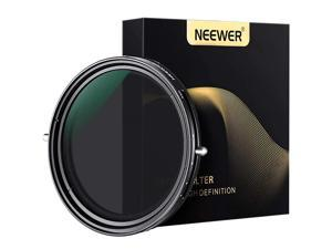 72mm Variable Fader ND2ND32 ND Filter and CPL Circular Polarizing Filter 2 in 1 for 72mm Thread Camera Lens + No Black Cross + Multilayer Coating + Oil Resistance