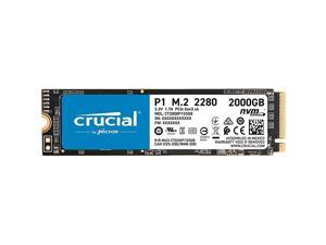 P1 2TB 3D NAND NVMe PCIe Internal SSD, up to 2000MB/s - CT2000P1SSD8