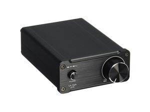 SA36A Pro 20WPC TPA3118D2 Digital Amplifier AMP 12V Power Supply Black