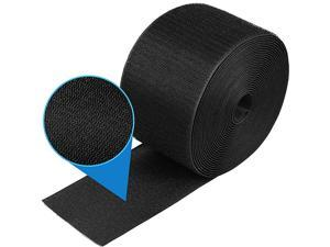 Piece 24 Feet Black Cable Grip Strip Carpet Floor Cord Cover Cable Protector Cable Management Protect Cords and Prevent a Trip Hazard