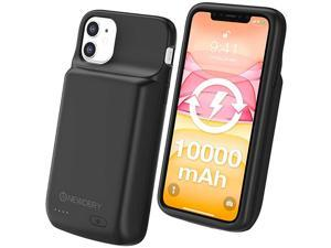 iPhone 11 Battery Case 10000mAh Extended Backup Battery Pack Charging Case Charger Case for iPhone 11 61 inches