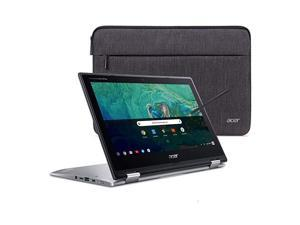 Chromebook Spin 11 Convertible Laptop Intel Celeron N3350 116 HD Touch Display 4GB DDR4 32GB eMMC 80211ac WiFi Wacom EMR Pen Sleeve CP3111HNC2DV