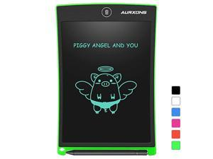 LCD Writing Tablet 85 Electronic Writing Drawing Pad Doodle Board Erasable Handwriting Tablet Portable Ewriter for Kids Adults at Home School Office Green