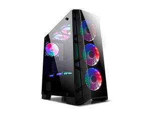 Z7 Computer Case Gaming PC Case ATX Case Micro ATXITX Mid Tower Desktop Computer Shell Case