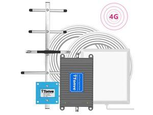 Cell Signal Booster Cell Phone Signal Booster for All Carriers TMobile 700MHz Band 1217 4G LTE Home Office Use Cellular Repeater Amplifier Kit Boost Voice and Data Up to 4500Sq Ft