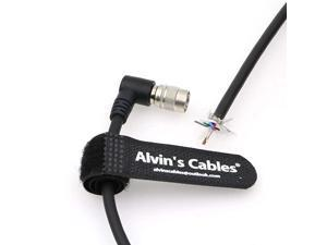 Trigger Strobe PWS Cable for TIS GigE Camera Right Angle Hirose 6 Pin Female to Open End Cable for Basler
