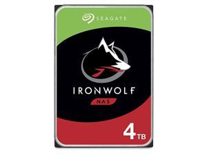 4TB IronWolf NAS SATA Hard Drive 6Gbs 256MB Cache 35Inch Internal Hard Drive for NAS Servers Personal Cloud Storage ST4000VN008 Silver