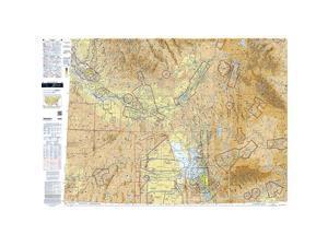 Chart VFR Sectional Salt Lake City SSLC Current Edition