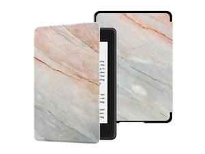 Watersafe Case for Allnew Kindle Paperwhite 10th Gen 2018 Release onlyWill Not fit Prior Gen Kindle Devices Marble Pink
