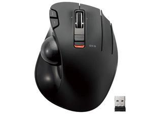 24GHz Wireless ThumbOperated Trackball Mouse 6Button Function with Smooth Tracking Precision Optical Gaming Sensor MXT3DRBK