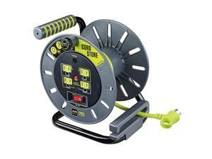 3ft Cord Lead with 4 Outlet Reel Only