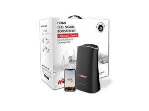 Cell Phone Signal Booster for Home & Office - 5 Band Signal Booster up to 3,000 Sq ft - Compatible with AT&T, T-Mobile, Verizon, Sprint, and US Cellular with APP