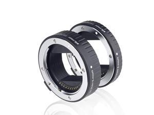 DGNEX Metal Mount Auto Focus AF Macro Extension Tube Ring Set 10mm16mm for Sony E Mount Mirrorless Camera A9 A7RIII A7RII A7III A7II A7R A7 A6300 A6500 A6300 NEX7