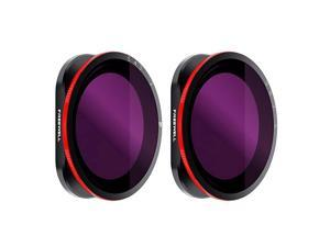 Variable ND 25 Stop 69 Stop 2 Pack VND Filters Compatible with DJI Osmo Action Camera