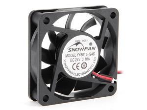 60mm x 15mm 24V DC Cooling Fan Long Life Sleeve Bearing Computer Case Fan