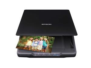 Perfection V39 Color Photo Document Scanner with ScanToCloud 4800 Optical ResolutionBlack