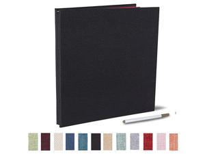 Album Self Adhesive 4x6 5x7 3x5 85x11 Scrapbook Magnetic Album DIY Scrap Book Length 13 x Width 128 Inches with A Metallic Pen