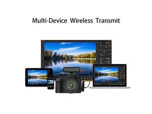 CF102 Wireless Remote Camera Controller, Capture & Transmit Wirelessly Instantly on Tablets, iPhone, PC, or TV (Camera NOT Included)