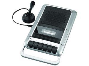 SRC124 Cassette PlayerRecorder with Microphone Headphone Jack Aux in