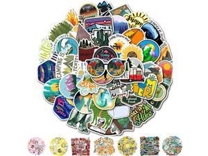 Stickers Cool Laptop Sticker 50 Packs Water Bottles Stickers for Adult Women Teens Girls Boys Hippie Graffiti Bomb Pack Stickers Trendy Stickers for Laptop Hydro Flask Skateboard