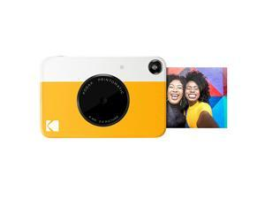 KODAK Printomatic Digital Instant Print Camera Full Color Prints On  2x3 StickyBacked Photo Paper Yellow Print Memories Instantly