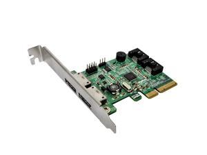 RocketRAID 642L 2 SATA 6Gbs and 2 eSATA 6Gbs Ports PCIExpress 20 x4 SATA III Controller Card