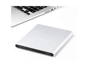 Premium Aluminum External USB 3.0 UHD 4K Blu-Ray Writer Super Drive for PC and Mac