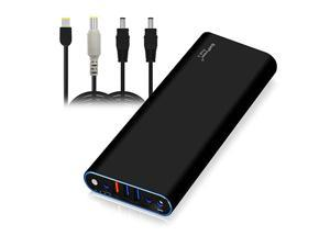 EX15L 210Wh Laptop External Battery Compatible with Lenovo ThinkPad Carbon Ultrabook IdeaPad Helix Flex Yoga Laptop Notebook Power Bank Portable Charger USB QC Quick Charge Tablet Smartphone