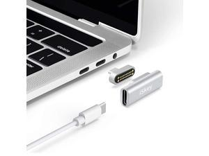 USB C Adapter 20Pins Type C Connector Support USB PD 100W Quick Charge 10Gbs Data Transfer and 4K60 Hz Video Output Compatible with MacBook ProAir and More Type C Devices Silver