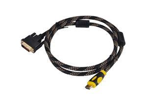 Adapters Cable15FT CL3 Rated High Speed BiDirectional HDMI to DVI Cable 5m