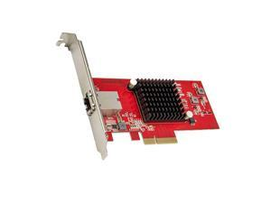 1 Port 10 Gigabit Ethernet Network Card PCIe x4 10Gb 10GBASET NIC AQTION AQC10710Gbps Ethernet PCIExpress x4 Adapter