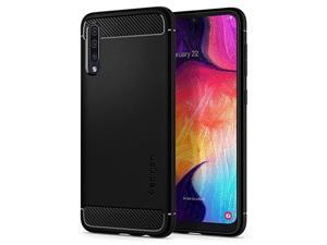 Rugged Armor Designed for Samsung Galaxy A50 A50s A30s Case 2019 Matte Black