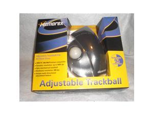 Trackball 3 buttons wired black beige retail