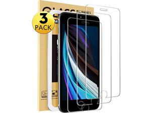 3Pack  Compatible with iPhone SE Screen Protector 2020 Tempered Glass Screen Protector for iPhone 87 and iPhone 6 6s with EasyInstallation Tool47 inch