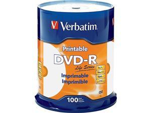 Life Series DVD-R Printable Disc Spindle, Pack Of 100