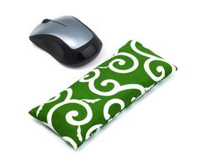 Wrist Rest Support Pad Ergonomic Pad with Wrist Support for Computer Laptop Office Work PC Gaming Massage Ergobeads amp Cotton Fabric Grass