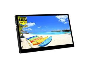 116 Inch Portable Touchscreen Monitor1080P IPS Display with USBHDMI Video Input for Mini PC LaptopPS3 PS4Nintendo Switch Smartphone Raspberry Pi