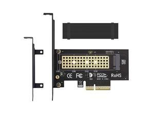 NVME to PCIe 3.0 x4 Adapter with Aluminum Heatsink Solution