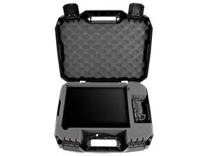 Travel Case Compatible with Xbox One X Hard Shell Xbox One X Carrying Case with Protective Foam Compartments for Console Controller Power Adapter Games and More Accessories