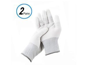 Polyester Anti-Static Cleaning Gloves for Cleaning Camera Lens CCD CMOS Sensor or Other Precision Instruments with Free Size -2 Pair