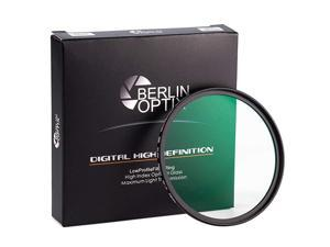 Premium UV Filter 58mm · Schott Glass · 16 Layers Multi Coated · Super Slim Aluminium Ultraviolet Lens · Protective Filter