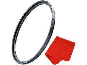 60mm X2 UV Filter for Camera Lenses UV Protection Photography Filter with Lens Cloth MRC8 Nanotec Coatings UltraSlim Traction Frame WeatherSealed by