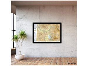Chart VFR Sectional Salt Lake City SSLC Current Edition Art Print Quality Suitable for Framing Current Edition Printed on Demand Ships Rolled Not Folded