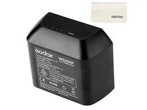WB400P Battery Replacement, 2600mAh Li-on Battery Pack for  AD400Pro Strobe Flash