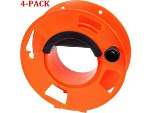Cord Storage Reel with Center Spin Handle 100Feet 4Pack