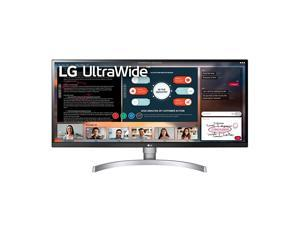"""34WK650-W 34"""" UltraWide 21:9 IPS Monitor with HDR10 and FreeSync (2018), Black/White"""