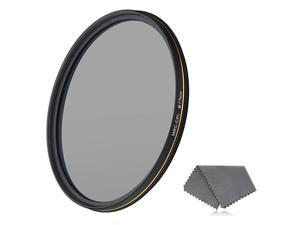 77mm CPL Circular Polarizing Filter for Camera Lenses 16Layer MultiResistant Nano Coated Ultra Slim German Optics Glass WeatherSealed Circular Polarizer Filter with Lens Cloth