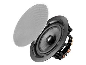 8 Trimless Thin Bezel inCeilinginWall Speaker Pair 100W ACE840